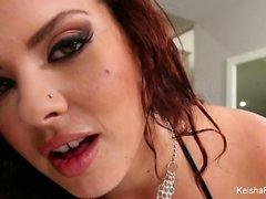 Busty hottie Keisha Grey wants more anal sex