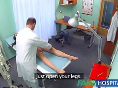 FakeHospital Horny student gets a good fucking