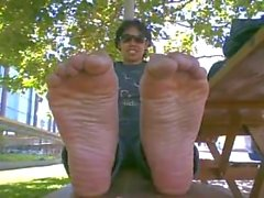 Tall Sexy girl Soles