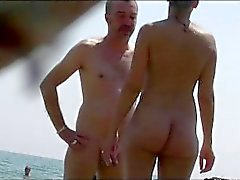 Praia de nudismo nuas Babes Tanning Spy Cam Video HD