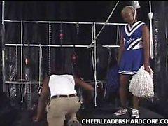 Ebenholz Cheerleader Alija Hahn Label Crammed