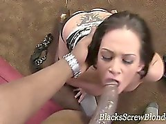 Interracial black cock fuck and suck