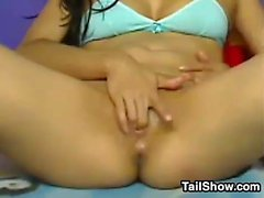 Cute Teen Shows Off Her Pussy