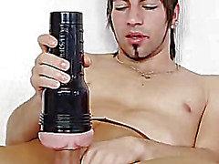 Solo Twink riesigen Hammer und Sperma