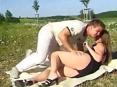 Hot Outdoor Casal alemão