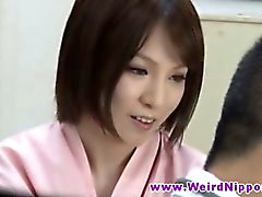 Young asian babes for medical check up