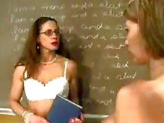 Teacher Dominates Her Student