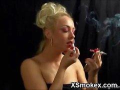 Vibrant Smoking Teen XXX Porn