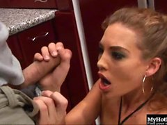 Ashley Gracie is a dark blonde haired nymphomaniac and...