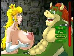 Princess Bitch hentai sex game (Nintendo)