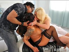 Master Ties Up Jasmeen Lafleur and Gives Her to Alura