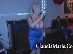 Huge Tit Claudia Marie Singing And Then Fucked By BBC