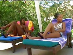India, Lacey Duvalle & Promise. Lesbian Threesome!
