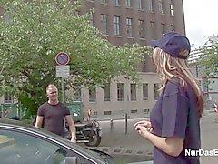 Deutschen 18yr Politesse Laesst Sitsch Außen Ficken