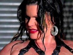 Angelina Castro - Oily Masturbation Barefeet