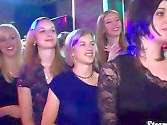 Jugend Partei Luder das Saugen an die Abstreifer harten Schwanz