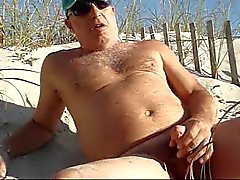 Ateşli Plaj Masturbasyon yapmak