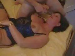 Amateur - Hard Nipple Mature CIM MMF Threesome