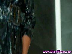 Bukkake glamour girls slimejob