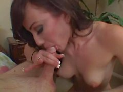 Jennifer White Gets The Cream Out Of A Big Dick The Best Way She