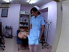 Asian uncensored Femdom Nurse
