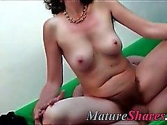 real horny housewife fucking