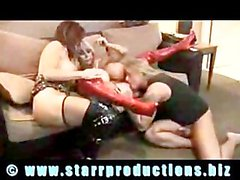 Elizabeth Starr And Deauxma - threesome