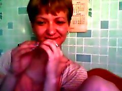 Ryska camgirl Dans