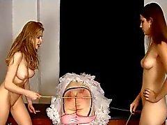nynny caned 2 mistresses