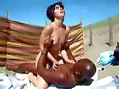 Nude Beach - BBC Lover