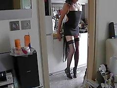 Nasty home alone waiting