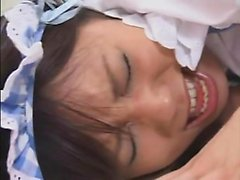 Kinky Japanese girls explore their lust for lesbian sex and hot semen