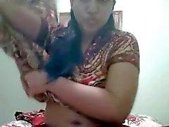 Bangla desi Dhaka college Shameless girl Rupa 25 skype