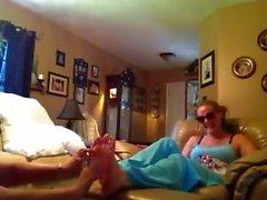 f/f feet tickling