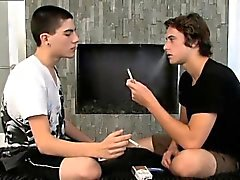 del mens di gay e culi riempite con sborra Rad fumatori scopa Joey !