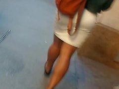 Белое платье Ebony Booty Прогулки