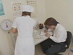 Aziatische verpleegster Chena