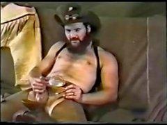 Vahşi Batı'da kızgın Smoking Kovboy ( Vintaj )