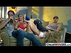 Seksikkäitä huijaamisesta Wife ( Kleio valentien ) nauttia kamerat kovaa seksi lain elokuvakanavat -18