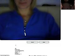 Chatroulette # 19 horney italialaiseen orgasme