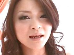 Naughty masturbation with petite Yuu Haruka