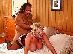 Kandi Cox split open by Ron Jeremy