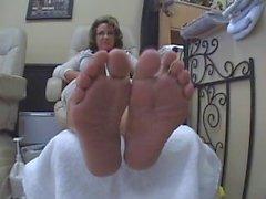 Mature footsies