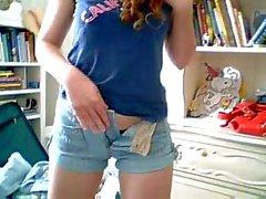 Sexy solo teen webcam video