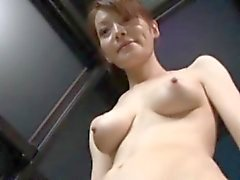 Young nippon getting her beaver fingered