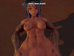 Monster Girl Island Demo - Story Build Day 3 Walkthrough