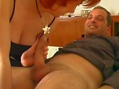 brother sister and his friend threesome Italian