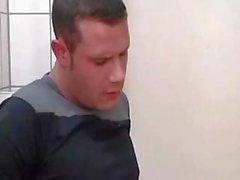 Slut Blonde In Toilet