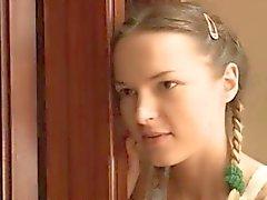 Duas garotas russas dildoing conas