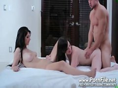 Brunette Bitches Threesome - Free Porn & a mp_ Sex Video - Brunette, Blowjob, Babe, Th